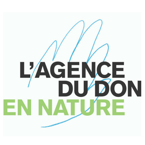logo agence du don en nature, programme Implantation Ronalpia