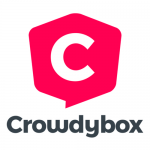 Logo Crowdybox, accompagné par Ronalpia Lyon