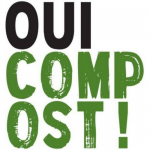 Logo Oui Compost, accompagné par Ronalpia Lyon