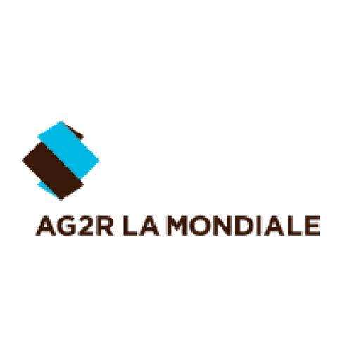 logo ag2R la mondiale partenaire de ronalpia