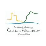 Logo Crestois et du Pays des Saillans, partenaire de Ronalpia dans la Biovallée