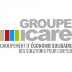 logo groupe icare, accompagné par Ronalpia