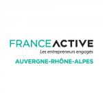 Logo France Active Auvergne Rhone Alpes, partenaire de ronalpia
