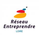 Logo réseau entreprendre Loire, partenaire de Ronalpia