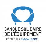 Logo Banque solidaire de l'équipement, accompagné par Ronalpia