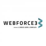 Logo Webforce 3, accompagné par Ronalpia