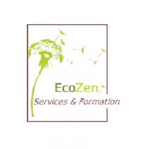 Logo EcoZen, accompagné par Ronalpia Lyon