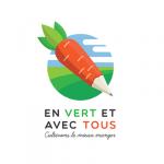 Logo En vert et avec tous, accompagné par Ronalpia