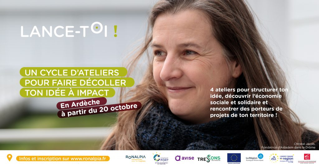 Banniere cycle ateliers lance-toi Ardeche