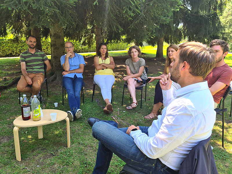 Dans le Pays Voironnais, les intrépides échangent avec le maire