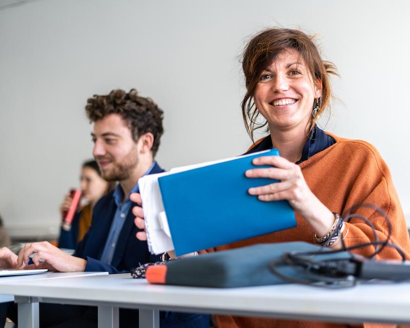 Pauline Chamard - entreprise sociale Tissâge Lyon