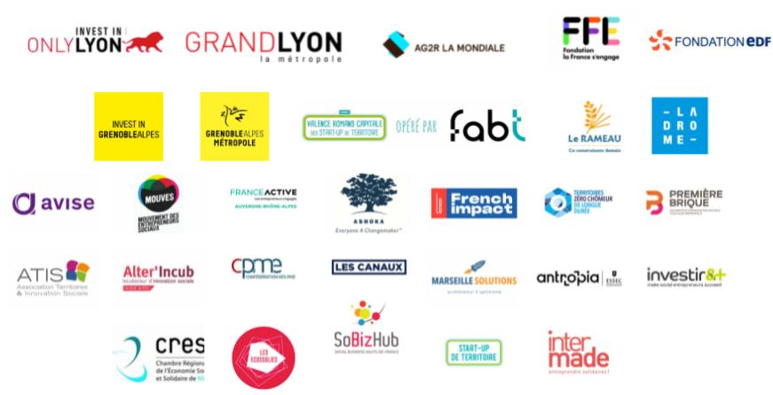Logos partenaires implantation